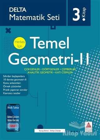 Delta Kültür Basım Yayın - Temel Geometri 2