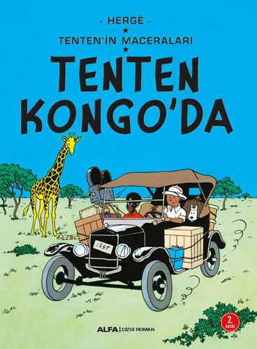 Alfa Yayınları - Tenten Kongo'da - Tenten'in Maceraları
