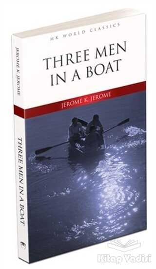 MK Publications - Roman - Three Men in a Boat - İngilizce Roman