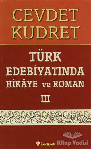 İnkılap Kitabevi - Türk Edebiyatında Hikaye ve Roman 3