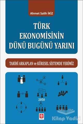 Ekin Basım Yayın - Akademik Kitaplar - Türk Ekonomisinin Dünü Bugünü Yarını