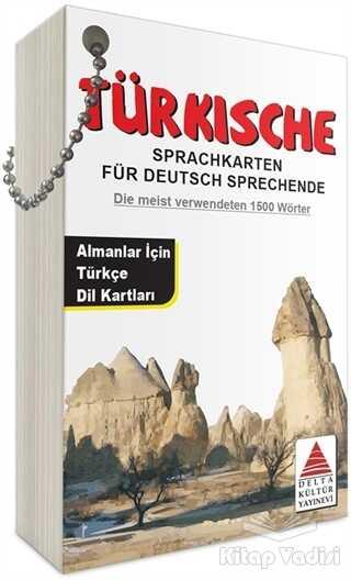 Delta Kültür Basım Yayın - Türkische Sprachkarten Für Deutsch Sprechende