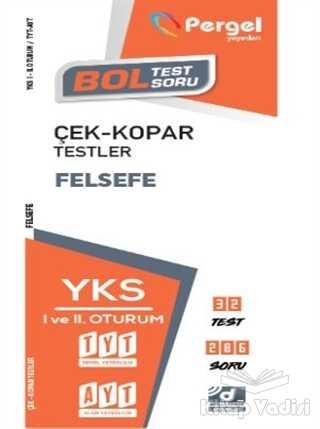 Pergel Yayınları - TYT - AYT Felsefe Çek-Kopar Testler