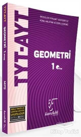 Karekök Yayıncılık - TYT-AYT Geometri 1. Kitap