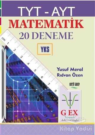 Yazarın Kendi Yayını - Yusuf Meral - TYT - AYT Matematik 20 Deneme