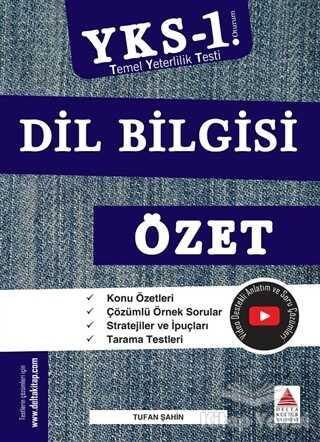 Delta Kültür Basım Yayın - TYT Dil Bilgisi Özet (YKS 1. Oturum)