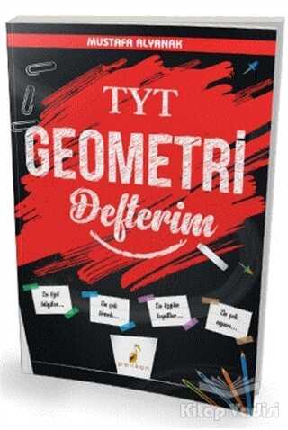 Pelikan Tıp Teknik Yayıncılık - TYT Geometri Defterim