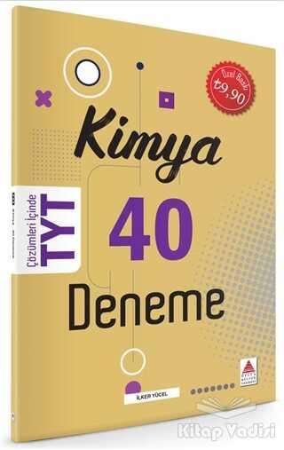 Delta Kültür Basım Yayın - TYT Kimya 40 Deneme