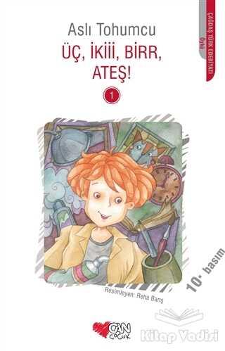 Can Çocuk Yayınları - Üç İkiii Birr Ateş! 1