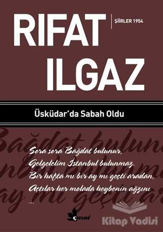 Çınar Yayınları - Üsküdar'da Sabah Oldu - Şiirler 1954
