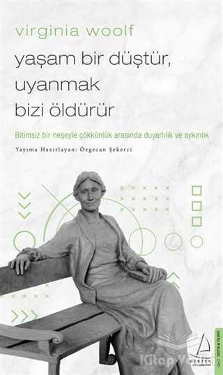 Destek Yayınları - Virginia Woolf - Yaşam Bir Düştür, Uyanmak Bizi Öldürür