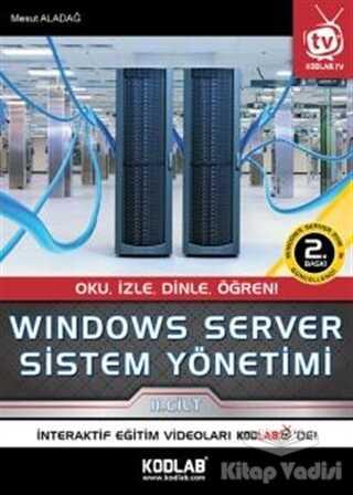 Kodlab Yayın Dağıtım - Windows Server Sistem Yönetimi 2. Cilt