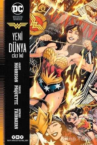 Yapı Kredi Yayınları - Wonder Woman Cilt 2 - Yeni Dünya