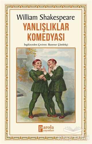 Parola Yayınları - Yanlışlıklar Komedyası