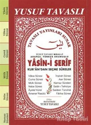 Tavaslı Yayınları - Yasin-i Şerif Kur'an'dan Seçme Sureler (C35/A)