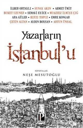 Pozitif Yayınları - Yazarların İstanbul'u