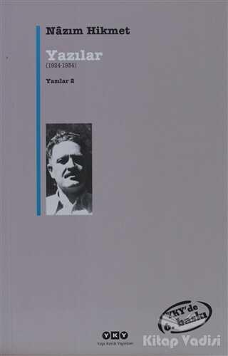 Yapı Kredi Yayınları - Yazılar (1924-1934)