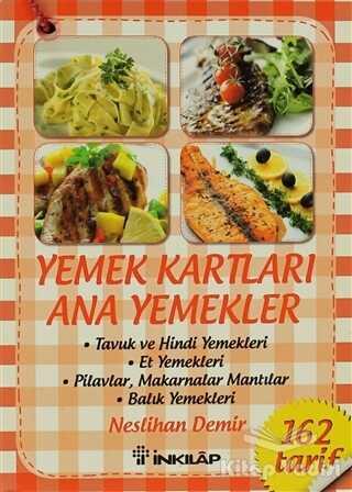 İnkılap Kitabevi - Yemek Kartları - Ana Yemekler