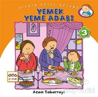 Nar Yayınları - Yemek Yeme Adabı - Aferin Güzel Oğluma 3