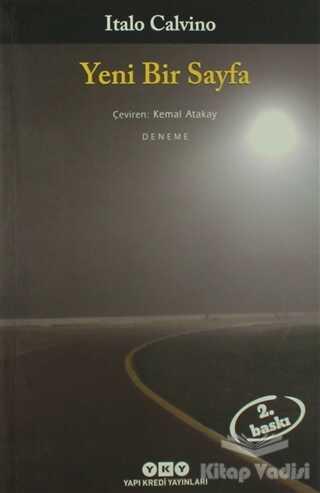 Yapı Kredi Yayınları - Yeni Bir Sayfa