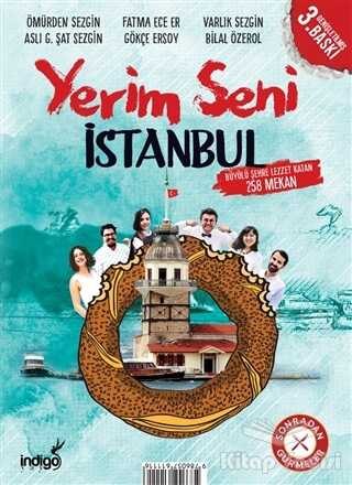 İndigo Kitap - Özel Ürün - Yerim Seni İstanbul