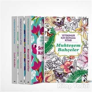 Maya Kitap - Yetişkinler İçin Boyama Kitabı (4 Kitap Takım)
