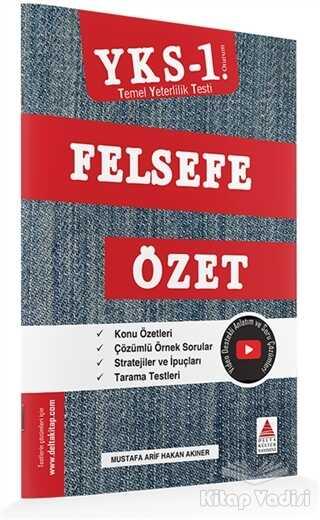 Delta Kültür Yayınevi - YKS 1. Oturum Felsefe Özet (TYT)
