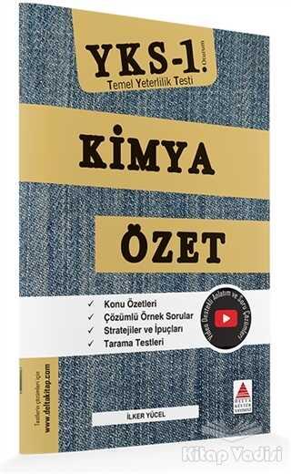 Delta Kültür Basım Yayın - TYT (YKS 1. Oturum) Kimya Özet