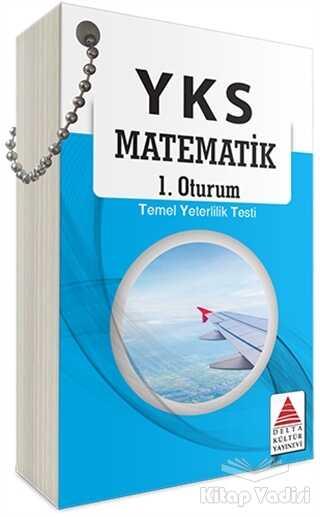 Delta Kültür Basım Yayın - YKS 1. Oturum Matematik Kartları