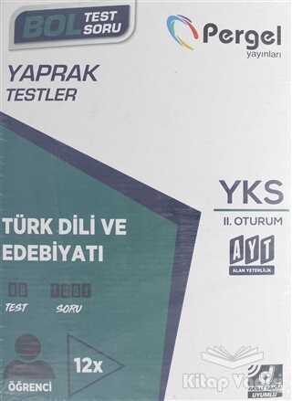 Pergel Yayınları - YKS 2.Oturum Türk Dili ve Edebiyatı Kutu Test