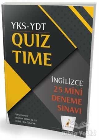 Pelikan Tıp Teknik Yayıncılık - YKS-YDT İngilizce Quiz Time 25 Mini Deneme Sınavı