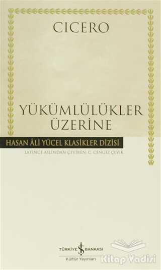İş Bankası Kültür Yayınları - Yükümlülükler Üzerine