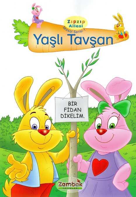 Zambak Yayınları - Zıp Zıp Ailesi Masal Serisi 1 (4 Kitap)